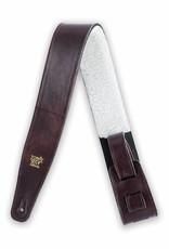 Ernie Ball Ernie Ball Italian leather strap chestnut