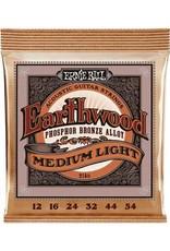 Ernie Ball Ernie Ball medium light phosphor bronze acoustic 12-54