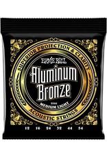 Ernie Ball Ernie Ball aluminium bronze acoustic  medium light 12-54