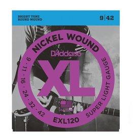 D'Addario D'Addario   EXL120 9-42