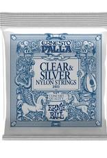 Ernie Ball Ernie Ball  Ernesto Palla clear & silver nylon classical