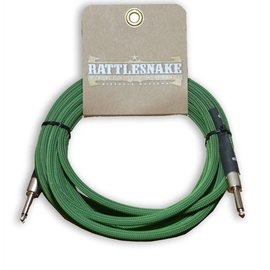 Rattlesnake Rattlesnake Cable Co. 15 feet standard cable green weave
