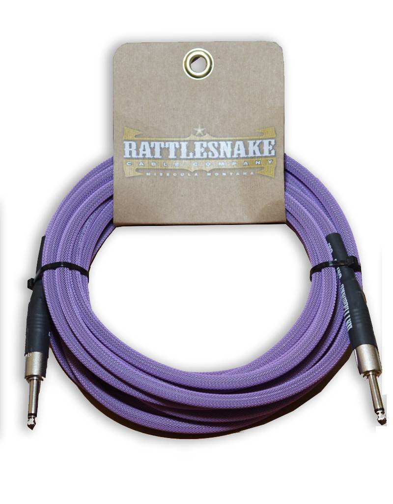 Rattlesnake Rattlesnake Cable Co. 20 feet standard cable purple weave