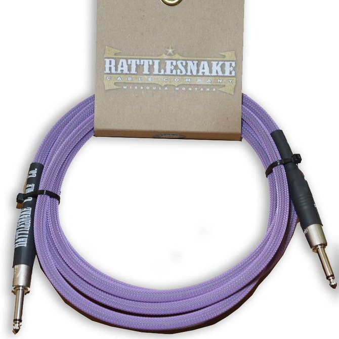 Rattlesnake Rattlesnake Cable Co. 10 feet standard cable purple weave