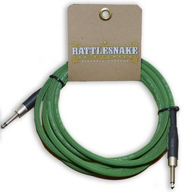 Rattlesnake Rattlesnake Cable Co. 10 feet standard cable green weave