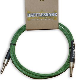Rattlesnake Rattlesnake Cable Co. 5 feet standard cable green weave