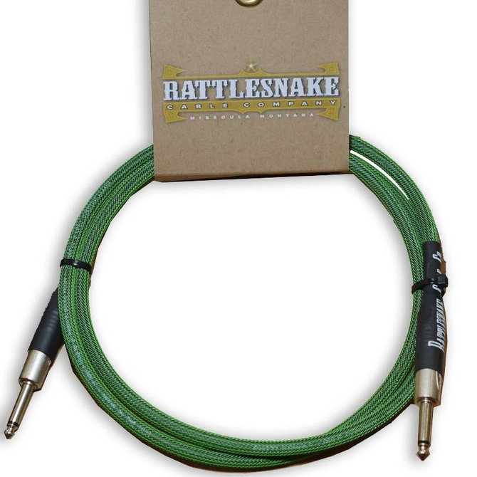 Rattlesnake Rattlesnake Cable Co. 5 feet standard cable green weave