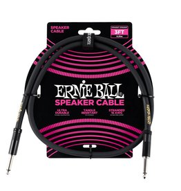 Ernie Ball Ernie Ball Classic cable black speaker cable 90cm
