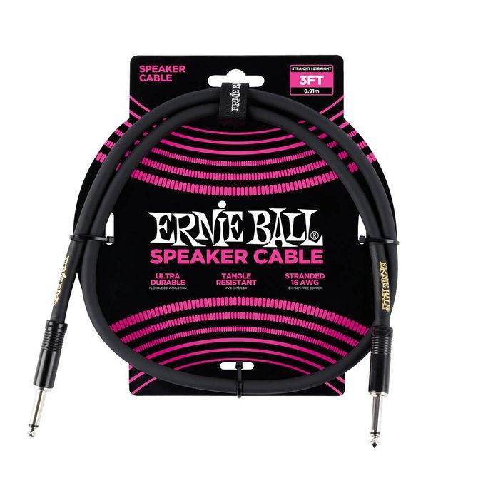 Ernie Ball Ernie Ball Classic cable black speaker cable 90cm