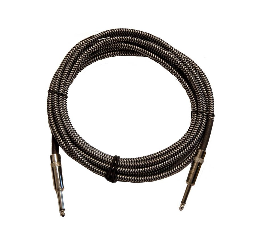 D'Addario   Braided instrument cable grey 6m