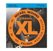 D'Addario D'Addario EXL160S 50-105 short
