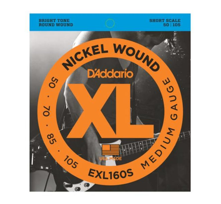 D'Addario EXL160S 50-105 short