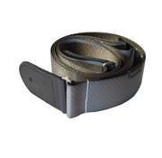 D'Addario D'Addario premium woven strap grey