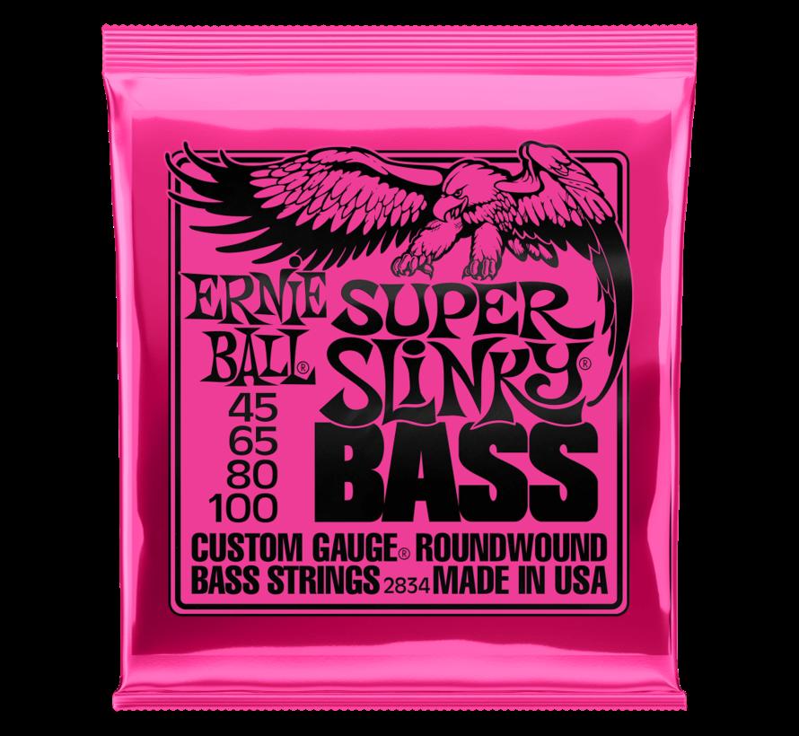 Ernie Ball  Super Bass Slinky 45-100