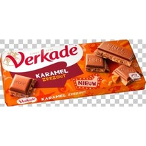 Verkade - tablet karamel/zeezout - 12 tabletten