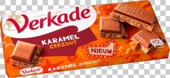 Verkade Verkade - Verkade Tablet Karamel/Zeezout, 12 Tabletten