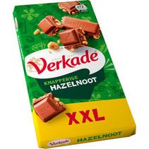 Verkade - tablet hazeln/melk xxl - 9 tabletten