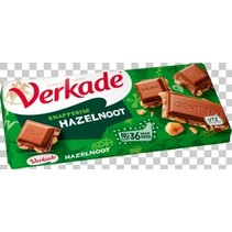Verkade - Verkade Tablet Hazelnoot/Melk, 10 Tabletten