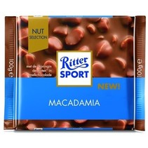 Rittersport - Tablet 100Gr Macadamia, 11 Tabletten