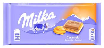 Milka Milka - caramel 100g - 23 tabletten