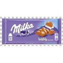 Milka - bubbly 100g - 13 tabletten
