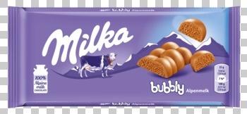 Milka Milka - Milka Bubbly 100G, 13 Tabletten