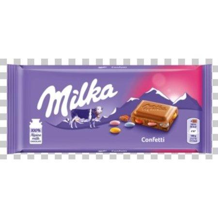 Milka Milka - Milka Confetti 100G, 22 Tabletten