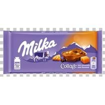 Milka - collage caramel 93g - 18 tabletten