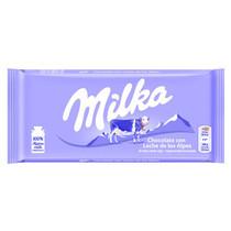 Milka - alpenmelk 100g - 24 tabletten