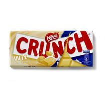 Crunch - tablet wit 100g - 20 stuks