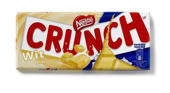 Crunch Crunch - Crunch Tablet Wit 100G, 20 Stuks
