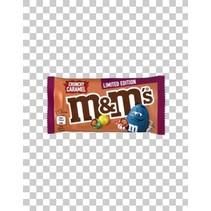 M&M - 45g crunchy caramel - 24 stuks