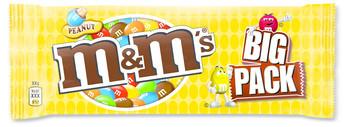 M&M M&M - M&M'S 70G Pinda Big Pack, 24 Zakken