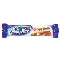 Milky Way - Milky Way Crispy Rolls, 24 Repen