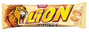 Lion Lion - white single 24x42g - 24 stuks