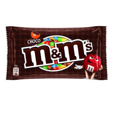 M&M M&M - M&M'S 45G Choco, 24 Zakken