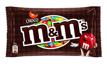 M&M M&M - 45g choco - 24 zakken
