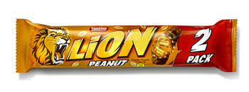 Lion Lion - peanut 2pack 60g - 28 repen