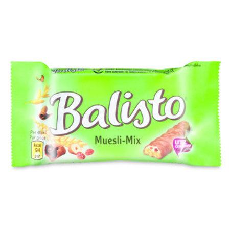 Balisto Balisto - Balisto Muesli-Mix 37G Groen, 20 Repen