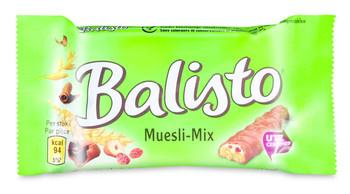 Balisto Balisto - muesli-mix 37g groen - 20 repen