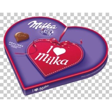 Milka Milka - I Love Milka Praline 165G, 12 Dozen