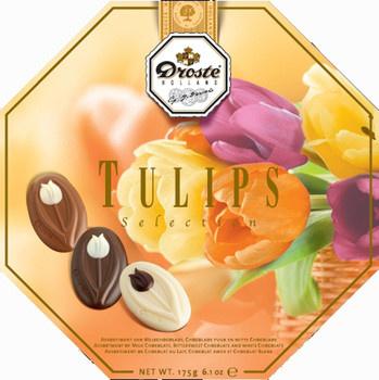 Droste Droste - Tulips Selection 175Gr, 6 Stuks