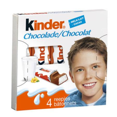 Ferrero Ferrero - kinder chocolade t4 - 20 pakken