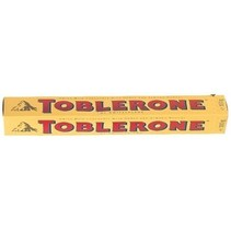 Toblerone - 100g geel - 20 kokers