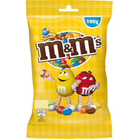 M&M M&M - M&M'S Pinda 100G, 30 Zakken