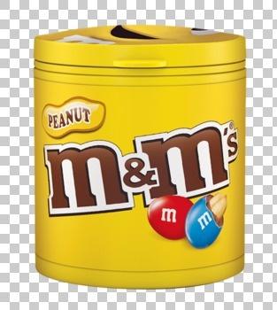 M&M M&M - M&M'S Bottle Pinda 100G, 8 Stuks