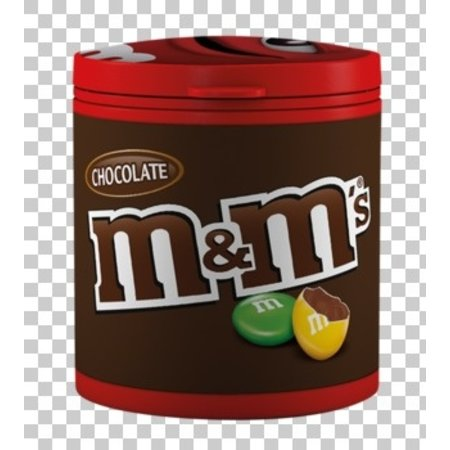 M&M M&M - bottle choco 100g - 8 stuks