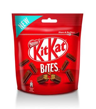 KitKat Kitkat - Kitkat Bites Pouch Bag 10X104G, 10 Zakken