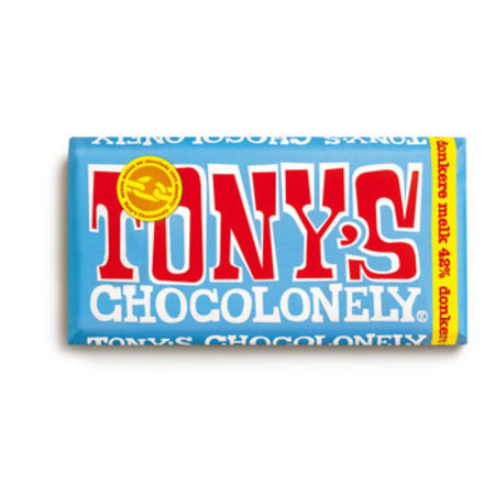 Tony's Chocolonely Tony's Chocolonely - melk 42% 180g - 15 repen
