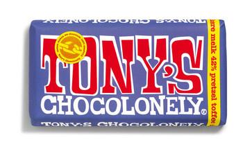 Tony's Chocolonely Tony'S Chocolonely - Reep 180G Donkere Melk Pretzel, 15 Repen